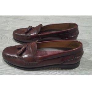 Johnston & Murphy Tassel Leather Loafers Size 9.5